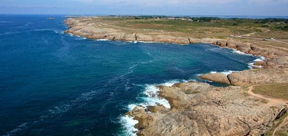 côte sauvage presqu'île de quiberon